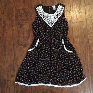Japna Kids Girls Floral Dress